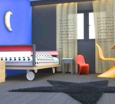 agencement et décoration d'une chambre d'enfant