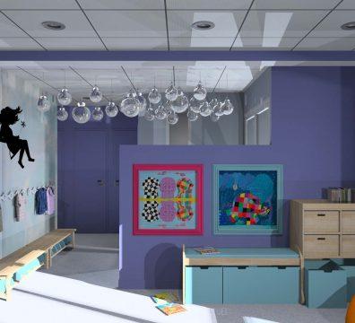 Décoration et agencement d'un centre d'autiste